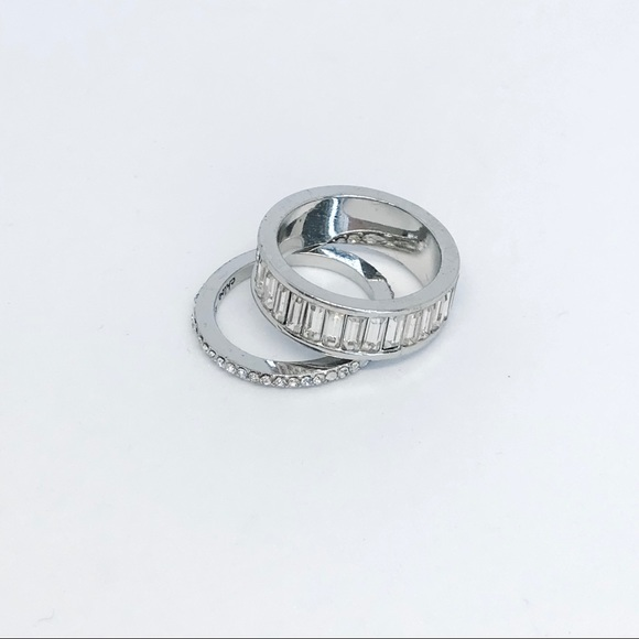 Chloe + Isabel Jewelry - IMPERFECT Baguette Ring Duo